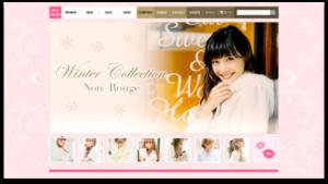 架空ファッションサイト画像